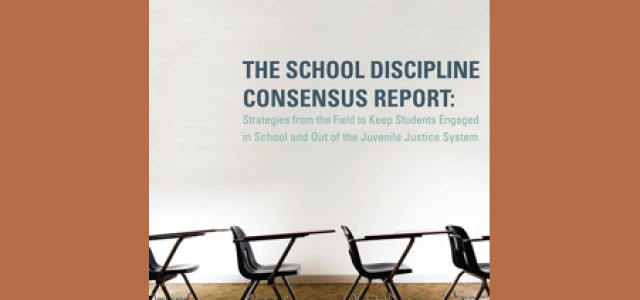 Consensus Report, Positive Programs and School Policing