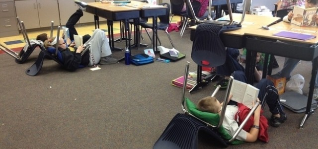 Free Range Seating — or Flexible Learning Environments